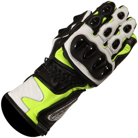 Buffalo BR30 Motorcycle Gloves - Yellow