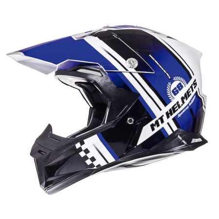 MT Synchrony Endurance Motocross Helmet Blue