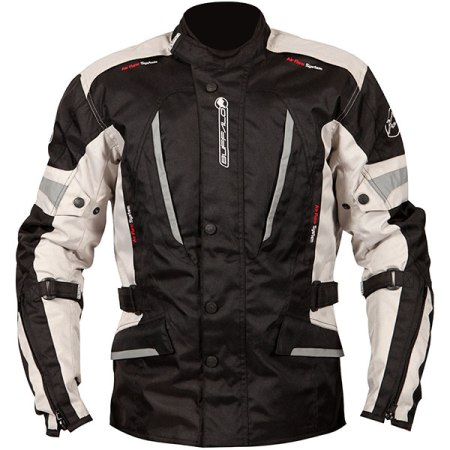 Buffalo Cyclone Motorcycle Jacket Stone