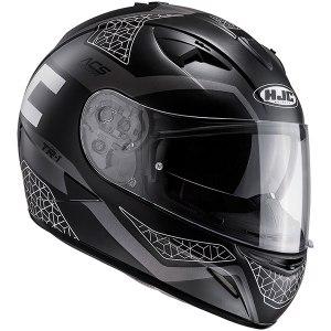HJC TR-1 Tholos Motorcycle Helmet Black