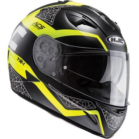 HJC TR-1 Tholos Motorcycle Helmet Yellow