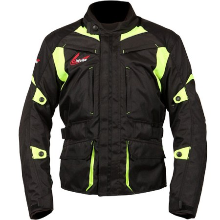 Weise Pioneer Motorcycle Jacket - Yellow