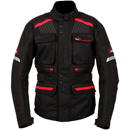 Weise W-Tex Touring Motorcycle Jacket - Black