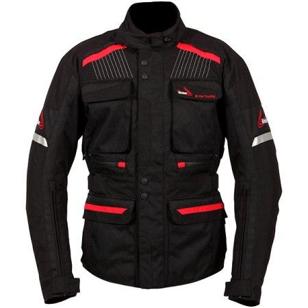 Weise W-Tex Touring Motorcycle Jacket Black