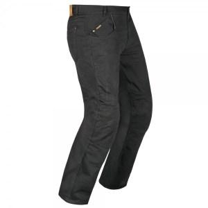 Akito Biker Denim Motorcycle Jeans Black