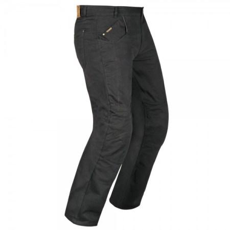 Akito Biker Denim Motorcycle Jeans - Black