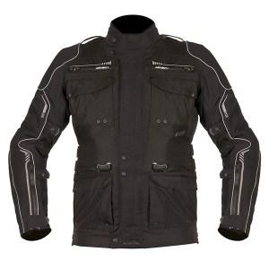 Akito Latitude Motorcycle Jacket Black