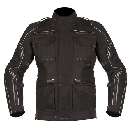 Akito Latitude Motorcycle Jacket - Black