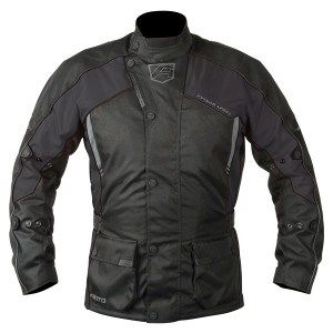 Akito Python Motorcycle Jacket Black