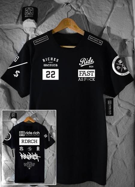 Ride Rich GP T Shirt - White