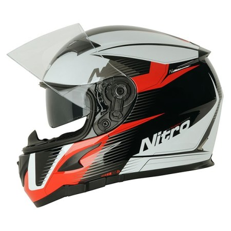 Nitro N2300 Rift Motorcycle Helmet - Red