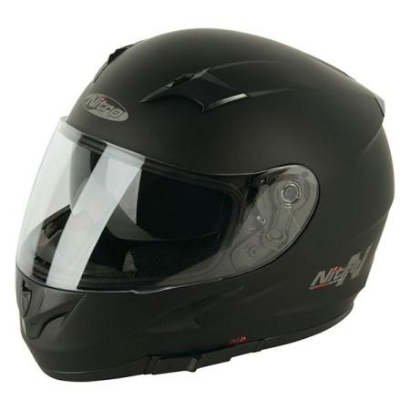 Nitro N2300 Rift Uno Motorcycle Helmet - Matt Black