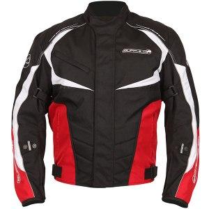 Buffalo Blitz Motorcycle Jacket Red