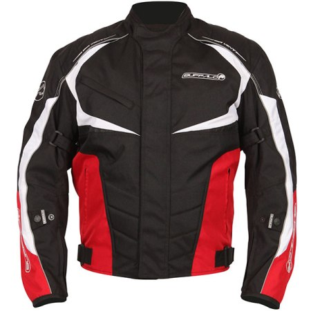 Buffalo Blitz Motorcycle Jacket - Red
