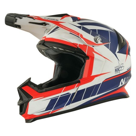 Nitro NRS MX Lithium Motocross Helmet - Matt Orange