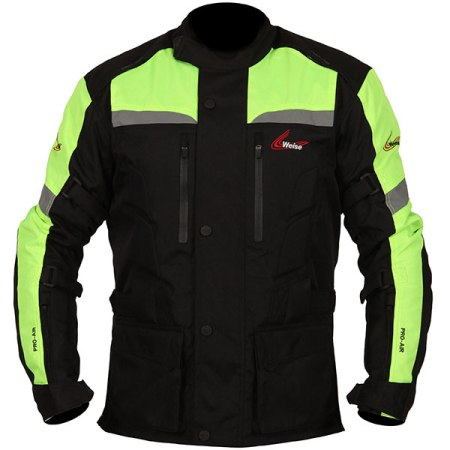 Weise Munich Motorcycle Jacket - Neon