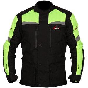 Weise Munich Motorcycle Jacket Neon