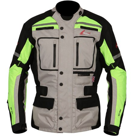 Weise Stuttgart Motorcycle Jacket - Neon