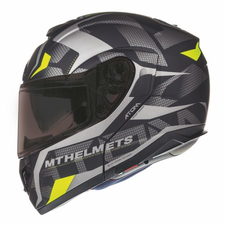 MT Atom SV Divergence Motorcycle Helmet - Matt Grey