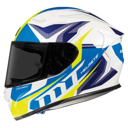 MT KRE SV Lookout Motorcycle Helmet Blue
