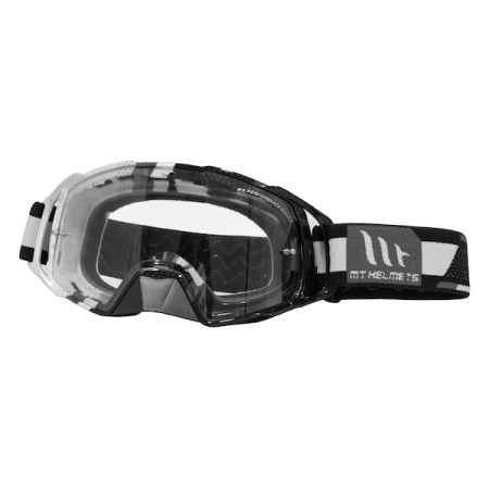 MT MX Evo Motocross Goggles Black