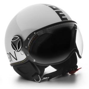 Momo Fighter Evo Motorcycle Helmet Gloss White