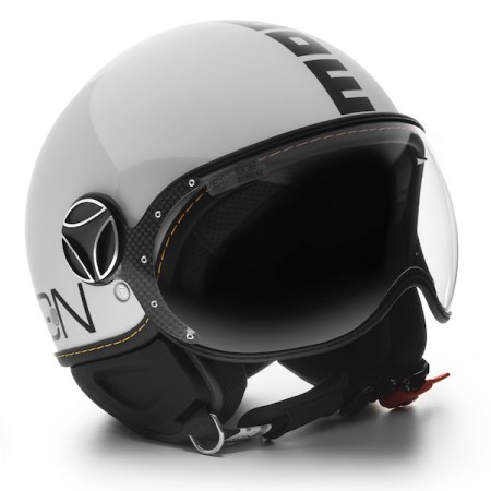 Momo Fighter Evo Motorcycle Helmet - Gloss White