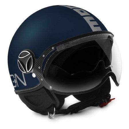 Momo Fighter Evo Motorcycle Helmet - Matt Blue