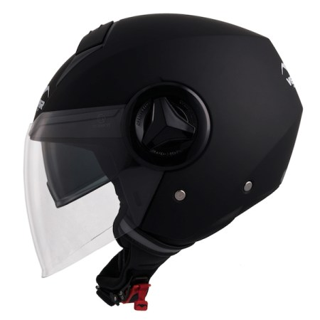 Vemar Breeze Motorcycle Helmet - Matt Black