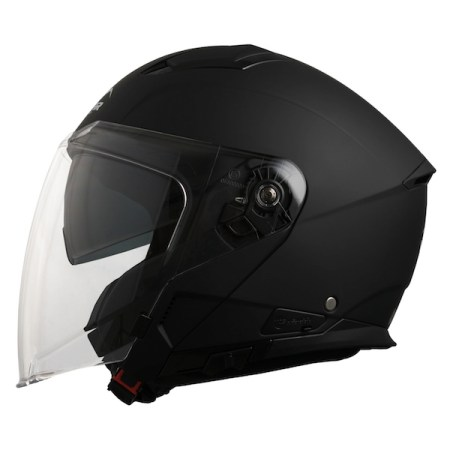 Vemar Feng Motorcycle Helmet - Matt Black