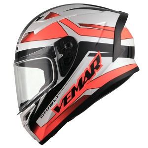 Vemar Ghibli Base Motorcycle Helmet Red