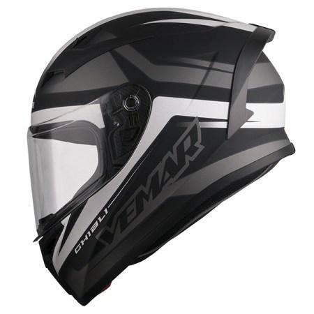 Vemar Ghibli Base Motorcycle Helmet - Matt Black