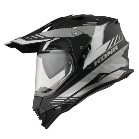 Vemar Kona Explorer Dual Sport Helmet - Matt Black