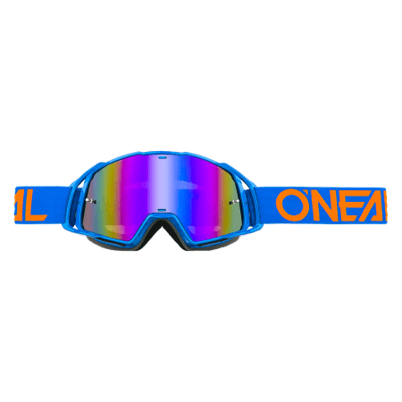 B-20 Goggle FLAT blue/orange - radium