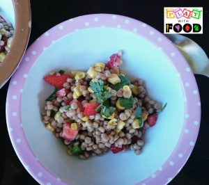 Pretty Salad | Cous Cous with Strawberries, Lime and Avocado by Play with Food