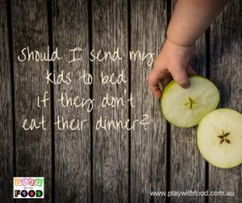 Should I send my child to bed with no dinner?