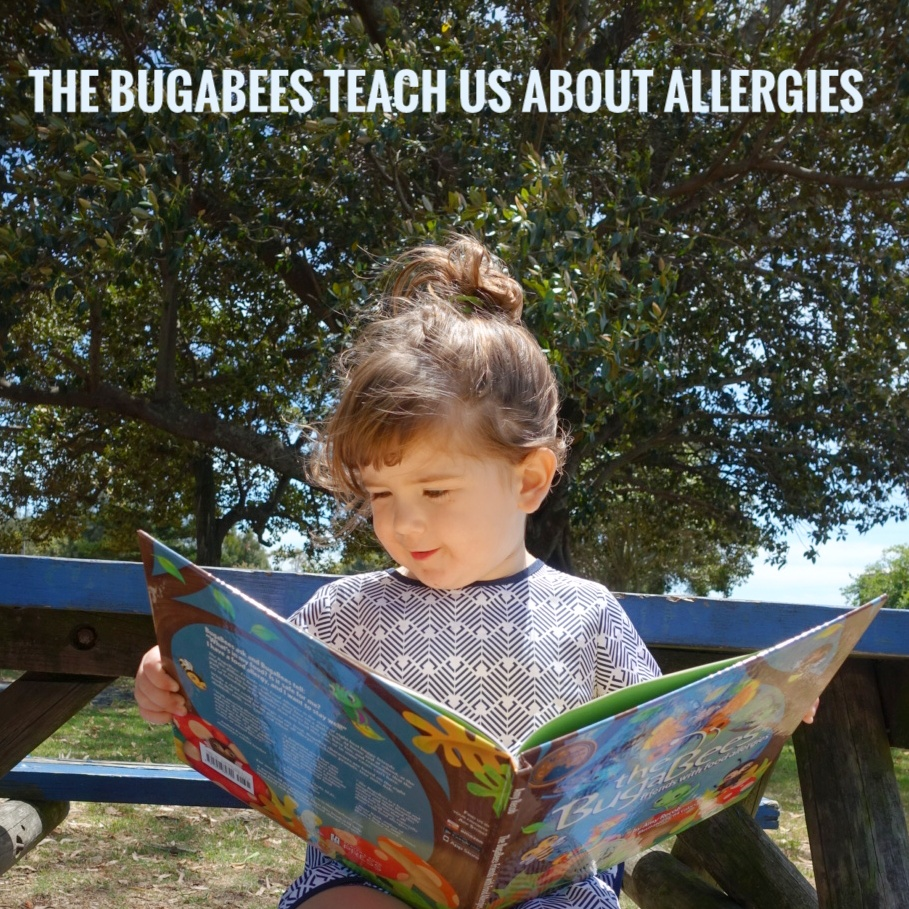 The BugaBees Book Review   Kids Books to help understand Food Allergies   Play with Food