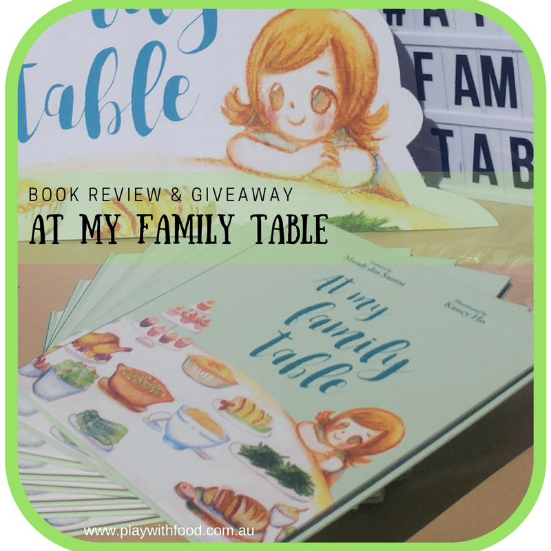 Book Review for At My Family Table