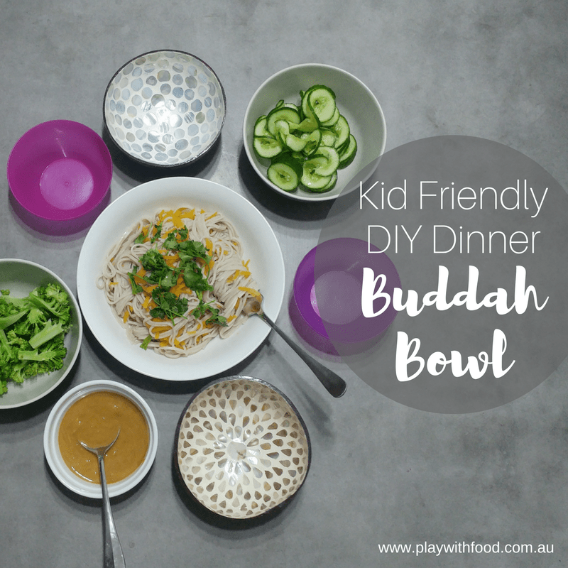 Delicious Family Friendly Vegan Buddah Bowl Recipe (including a delicious peanut and ginger sauce) | Family Food by Feeding Specialist, Simone Emery