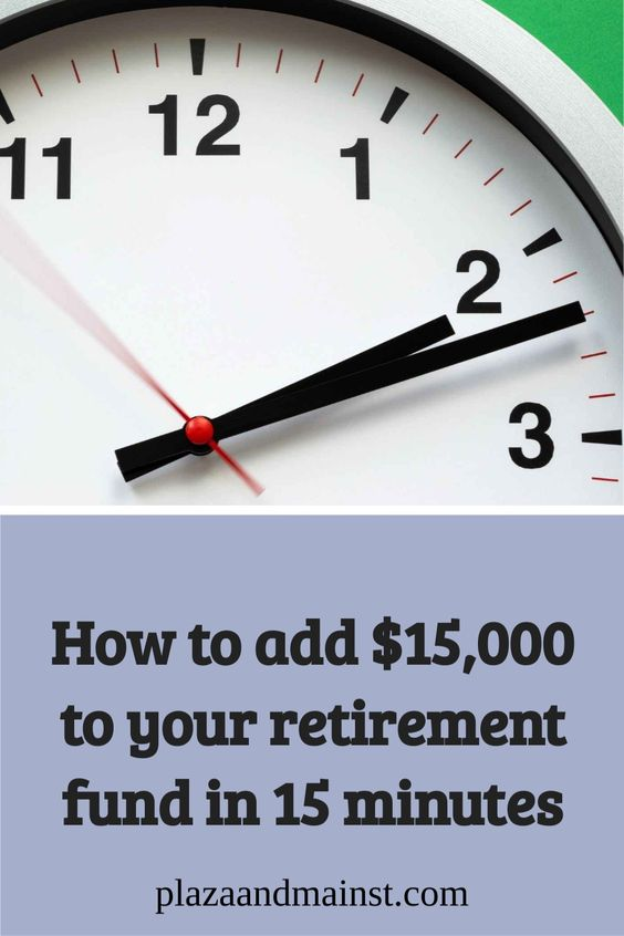 save 15k in 15 minutes for retirement operating expenses