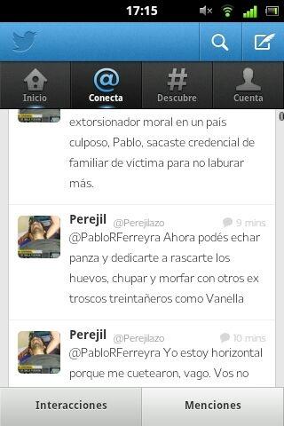 Otro twitt desde la cuenta @perejil
