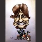 El caballero de la motocicleta