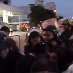 Santiago del Estero: la policía de Zamora reprime marcha de mujeres (VIDEO)
