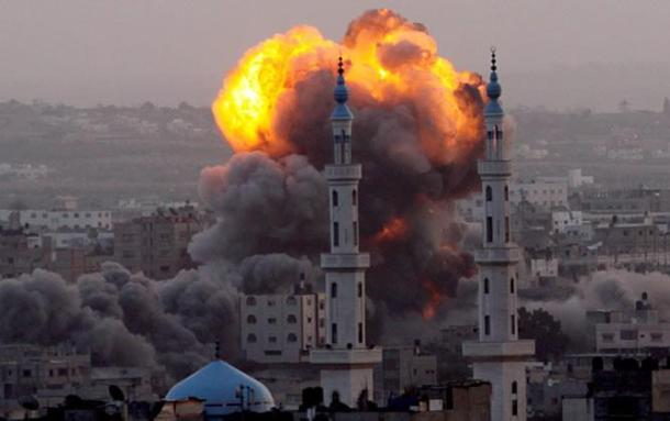 Bombardeo de Israel sobre Gaza