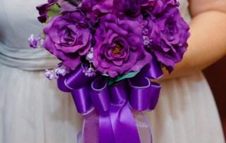 chapel with wedding florist