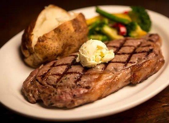Image result for steak dinner