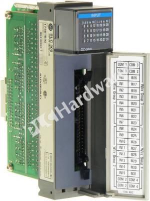 PLC Hardware  Allen Bradley 1746IB32 Series C, Used in
