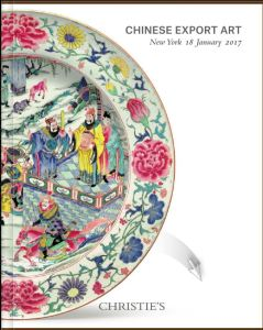 China Trade porcelain auction