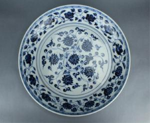 Copy of Ming blue and white