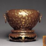 17th C. Gilt Chinese Incense Burner